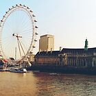 London Big Wheel by DDabug