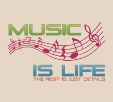 MUSIC IS LIFE by mcdba