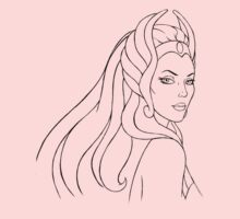 She-Ra Princess of Power (Black Line Art) by DGArt