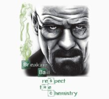 Walter White - Respect the Chemistry  by HarryJMichael