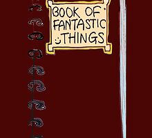 Fantastic things - notepad case by bardenne