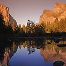 Mountain reflections by Mark Walker