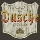 Dusche - Beer Label by Tom  Ledin