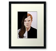 Dexter & Debra - The End Framed Print