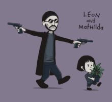 Leon and Mathilda by Justyna Dorsz