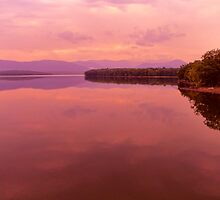 Morning Light on the Ashokan Reservoir by PineSinger