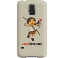 Lara the Explorer Samsung Galaxy Case/Skin