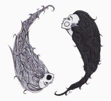 Ying  Yang by kikki knox