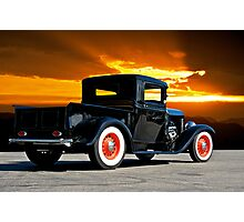 1932 Ford Pick Up III Photographic Print