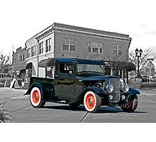 1932 Ford Pick-Up I Photographic Print