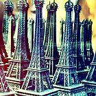 A Tourist's Eiffels by Patricia L. Walker