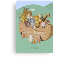 Ark Welding Canvas Print
