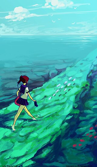 Ocean Path by Ondinel