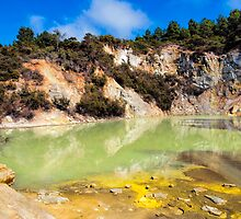 Sulphur Springs - Frying Pan Flat by John Sharp