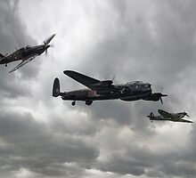 Battle of Britain Memorial Flight by J Biggadike