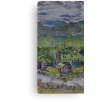 Across the strath Canvas Print