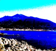 Riviera. Sticker