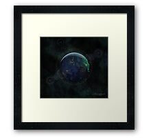 Spiritual Earth Framed Print