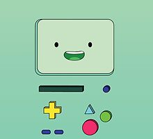 Bmo - Adventure Time  by Raccoon-god