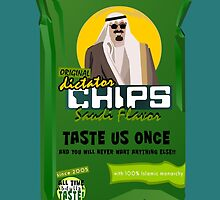 Dictator Chips Saudi Flavor by Virginie Moerenhout