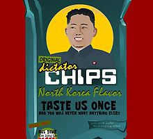 Dictator Chips North Korea Flavor by Virginie Moerenhout