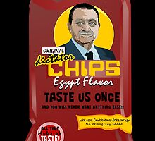 Dictator Chips Egypt Flavor by Virginie Moerenhout