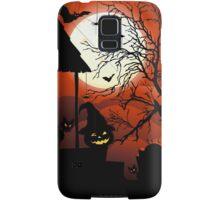 Halloween on Bloody Moonlight Nightmare Samsung Galaxy Case/Skin