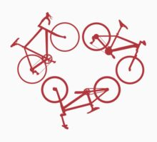 Bicycle triangle (red) by hellomrdave
