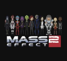 Mass Effect 2 Crew  ver.1 by Shadyfolk