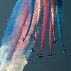The Red Arrows by © Steve H Clark