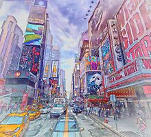 Time Square New York by Shawna Mac