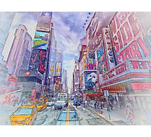 Time Square New York Photographic Print