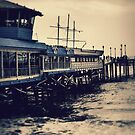 Redondo Beach Pier - Blue  by jjbentley