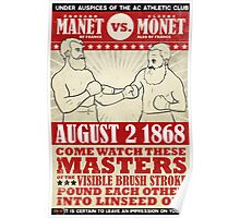 Showdown of a Couple of Centuries Ago Poster