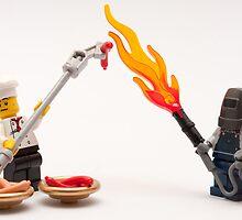 Extreme BBQ by Kevin  Poulton - aka 'Sad Old Biker'