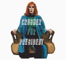 Crusher for President! by mjshepard