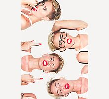 Miley Cyrus - Terry Richardson Photoshoot by heyitsjared
