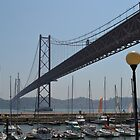 25th April Bridge - Lisbon by TamaSuperstar