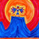 Thunderbird original painting by CrowRisingMedia