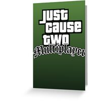 JCMP/GTA San Andreas Logo Greeting Card