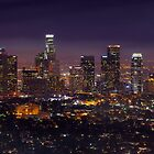 Los Angeles Skyline by DDMITR