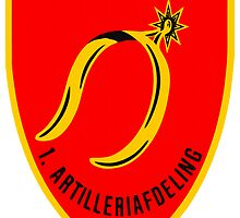 1.Battalion (1 AA) (Fieldartillery), Danish Artillery Regiment by boogeyman
