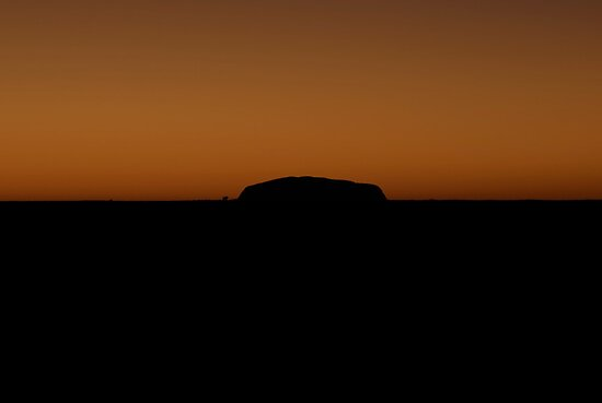 Uluru at Sunrise by Steve Randall
