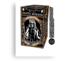 La Santa Muerte Regular Canvas Print