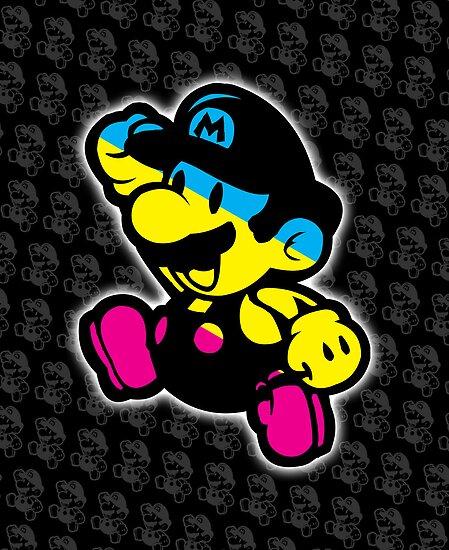 Chibi no Mario by coffeewatson