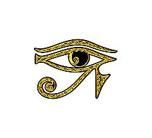 EYE OF HORUS - Protection Amulet Photographic Print