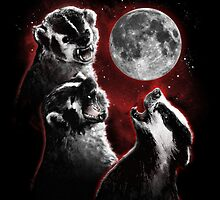 3 BADGER MOON by Jerkass