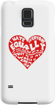 I hate everyone equally by nimbusnought