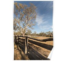The yards at Barmah Poster