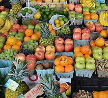 Fruit Stand by Victor Barrera